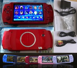 PmP mP5 mP4 games online shopping - 2019 hot Inch PMP Handheld Game Player MP3 MP4 MP5 Player Video FM Camera Portable GB Game Console