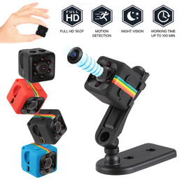 New SQ11 Mini Camera HD 1080P Night Vision Camcorder Car DVR Infrared Video Recorder Sport Digital Camera Support TF Card free DHL from police mini camera manufacturers