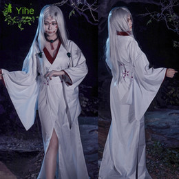 ghost clothing Canada - Qingyi River Ghost Blade cosplay Wig suit clothing suit Spider mother coswear full set of clothes wig accessories cosplay