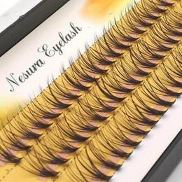 Long Synthetic False Eyelashes Australia - 1 Set 0.07 C 20d Women Long Thick False Eyelashes Wave Individual Eyelashes Extension Black Soft False Eye Lashes