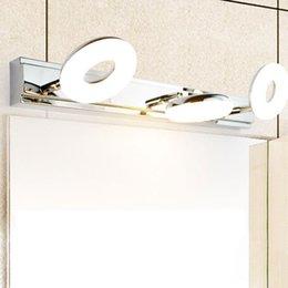 L Led Gold Mirror Cabinet Light Simple Bathroom Moisture-proof Bathroom Mirror Headlight Dressing Table Retro Strip Wall Lamp Led Indoor Wall Lamps