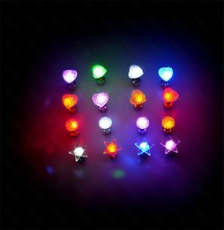 Magnet Items Australia - many styles new fashion Flash earrings Hairpins Strobe LED ear ring Lights Strobe flashing Nightclub party items Magnets Fashion lighting