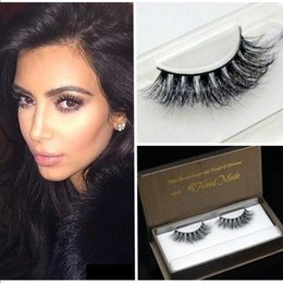 $enCountryForm.capitalKeyWord NZ - M35 100% 3D mink eyelashes double cotton stalk lashes extension 11mm eyelashes with eyelash perm kit