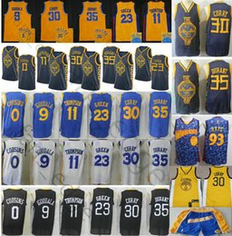 2019 Golden State Warriors City Edition 30 Stephen Curry lguodala DeMarcus  Cousins Klay Thompson 23 Draymond Green 35 Kevin Durant Jerseys 9e29f45b7