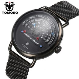 $enCountryForm.capitalKeyWord Australia - TOMORO Original design high-end men's quartz watch creative new concept big dial fashion sports business luxury watch