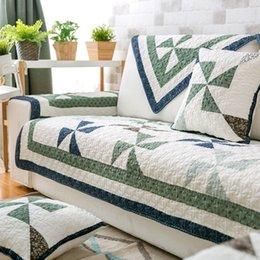 printed sofa cloth Australia - Nordic style washed cotton sofa cover four seasons universal hand cloth modern living room all-inclusive cover towel sofa