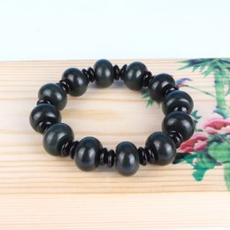 $enCountryForm.capitalKeyWord Australia - Fashion Natural Dark Green Hetian Jade Bracelet Drop Shipping Carved Abacus Beads Women Men Female Nephrite Qing Jades Bracelets