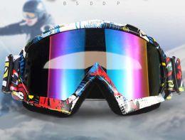 Atv Gears Australia - Motocross Goggle Motorcycle Dirt Bike Downhill Glasses Motocross Off-Road Eyewear ATV Gafas Racing Protective Gear Cycling Mask