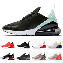 outlet store a7276 0aaed University Red 270 Photo Bleu Hommes Femmes Chaussures de course Flair Triple  Black Core white Trainer Sports Medium Olive Brown Tiger 270s