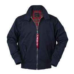 $enCountryForm.capitalKeyWord NZ - Autumn Harrington Vintage Windbreaker Bomber Jacket Men European Style Military Plus Size Cotton Casual Waterproof Safari