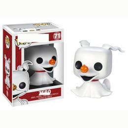 Jack Gifts Australia - 2019 new FUNKO POP Skeleton Jack Zero Ghost Dog dolls Action Figures ChildrenToys Games Figures toy gift