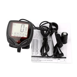 Waterproof Lcd Display Cycling Computer Bike Australia - Waterproof Bicycle Bike Cycle LCD Display Digital Computer Speedometer Odometer Console Stopwatch Gadget for Traveling P3 #170199