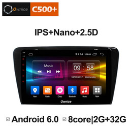 "Discount car gps skoda - 10.1"" 2.5D Nano IPS Screen Android Octa Core 4G LTE Car Media Player With GPS RDS Radio Bluetooth For Skoda Octavia"