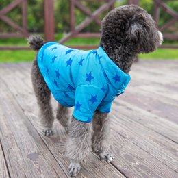 T Shirts Material Wholesale Australia - New Teddy Dog Polo Shirts Spring Summer Colorful Pet Clothes Poromeric Material Small Baby Pet Easy Washing Factory Price Dog Apparel Amazon