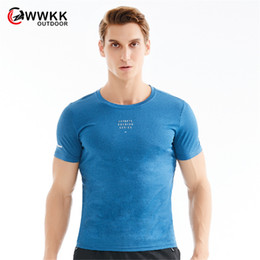 $enCountryForm.capitalKeyWord Australia - 2019 New Mountaineering Round Neck T-Shirt Summer Men Women Breathable Tees Quick Drying Light Short Sleeve Tops Hiking T-Shirts