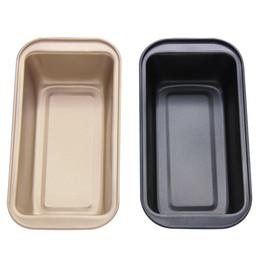 Toast Pan rectangulaire antiadhésif Fromage Toast moule en acier au carbone Pain Toast Pan pain moule pour cuisson en Solde