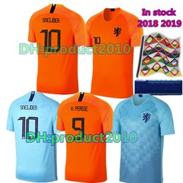 In stock!2018 Netherlands soccer jersey BABEL VIRGIL MEMPHIS V.Persie home  with away netherlands football jersey 18 19 Dutch football shirts 376f596b4