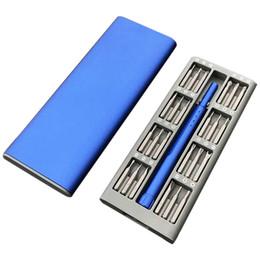 Home screwdriver set online shopping - Daily Use Mini Screwdriver Kit Precision Magnetic Bits Box Screw Driver Smart Home Set