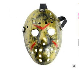 hockey masks Australia - Horror Cosplay Costume Friday the 13th Part 7 Jason Voorhees Costume Latex Hockey Mask Vorhees