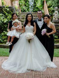 $enCountryForm.capitalKeyWord UK - Romantic Ball Gown Wedding Dresses 2019 Sweetheart Backless Pleats Long Train Modern Tulle Bridal Gowns Vestido De Novia Customized