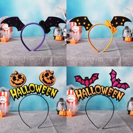 $enCountryForm.capitalKeyWord Australia - Halloween Festival and Party Non-woven Fabric Decorative Headwear Small Bat Halloween Hat Headband for Adult and Children