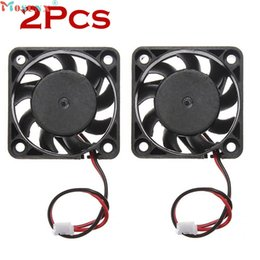 Discount computer pins - Mosunx Simplestone 2pcs12V Mini Cooling Computer Fan - Small 40mm x 10mm DC Brushless 2-pin 0120