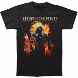 cotton printing machines Australia - 100% Cotton Brand New T Shirts Crew Neck Short - Sleeve Printing Machine Mens Disturbed Men's Indestructible 08 Casual T Shirts