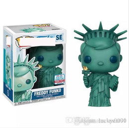 pop collectible figures NZ - Brand New wholesales Funko POP Statue of Liberty Vinyl Action Figure with Box Collectible Toy Popular Gift Good Quality