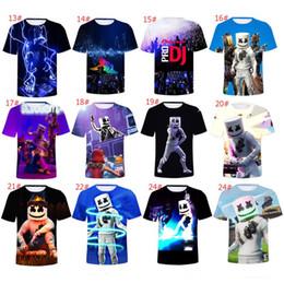 edb97bf95 3D Marshmello Printed T-Shirt Short Sleeve Cartoon T-Shirts Women Men S-4XL  Plus Size Tracksuit Top Jogging Sweatshirt Tops 2019 A53004