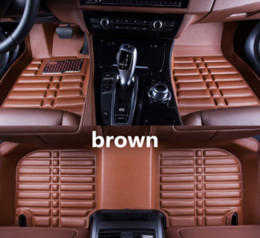$enCountryForm.capitalKeyWord Australia - Applicable to Kia Sorento 2007-2017 car floor mat front and rear pad accessories non-slip waterproof leather carpet car mat