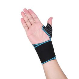 $enCountryForm.capitalKeyWord Australia - 1 Pcs Hand Wraps Wrist Strap Weight Lifting Wrist Wraps Crossfit Powerlifting Bodybuilding Breathable For Cycling Tennis Gym