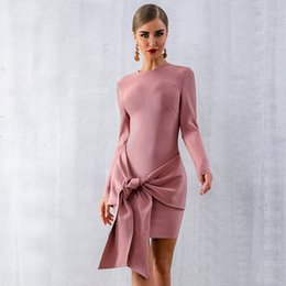$enCountryForm.capitalKeyWord Australia - 2019 Vintage bandage Pink Prom Dresses Lace Appliqued Cap Sleeve Sheer Back Evening Dresses Formal Party Gowns Cheap Long Dresses