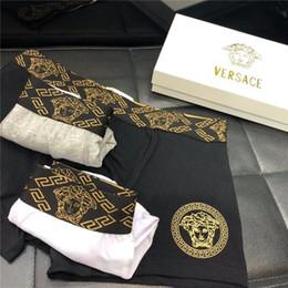 Wholesale embroidered applique letters online shopping - luxury brand designer Fashion Men s Underwear Brand Boxer Embroidered Men s Breathable Underwear G2 Versace