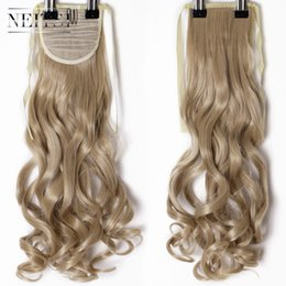 Beauty & Health Hair Care & Styling Neitsi Curly Long Clip In Hair Tail False Hair Ponytail Hairpiece With Hairpins Synthetic Hair 27#