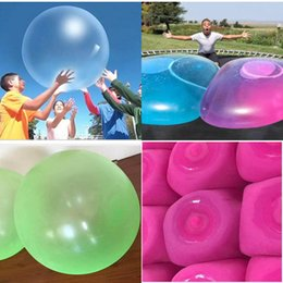 $enCountryForm.capitalKeyWord Australia - 2019 Amazing Bubble Ball Funny Toy Water-filled TPR Balloon For Kids Adult Outdoor wubble bubble ball Inflatable Toys Party Decorations C12