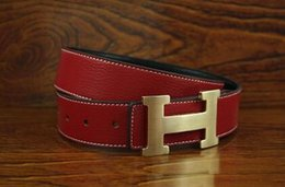 H leatHer belt men online shopping - High quality belt fashionable leisure lady leather belt Hot new high quality belts high quality H belt man