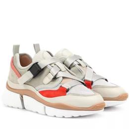 Toptan satış YENI Marka Tasarımcısı kadın \ 'ın Yüksek Üst Düşük Üst Moda Yuvarlak Toe Lace Up Casual Spor Ayakkabı Sneaker Lüks Ayakkabı Boyutu 5-9