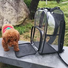 $enCountryForm.capitalKeyWord Australia - THINKTHENDO Transparent Pet Backpack Carrier Bag Cat Small Dog Breathable Mesh Window for Travel Backpack