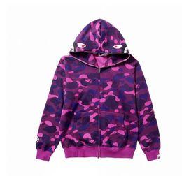 $enCountryForm.capitalKeyWord Australia - High Quality Fall Mens Women Love Sportwear Coat Jogger Tracksuit Zipper Fleece Sweatshirt Crewneck Casual Hip Hop Hoodie Men Shark Mouth
