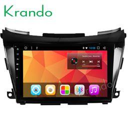 "Nissan Audio Australia - Krando Android 8.1 9"" Full touch car Multimedia player for Nissan Murano 2015+ navigation system radio player audio gps wifi BT car dvd"