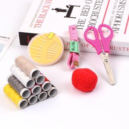 Threaded Needle Kit NZ - Portable Household Sewing Kit Sewing Thread Needle DIY Cross Stitch Tools