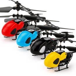 flashing helicopter toy Australia - Mini RC drone Flying Helicopter USB Charging Intelligent Infrared Control Aircraft with Transmitter Toy for Children Adults