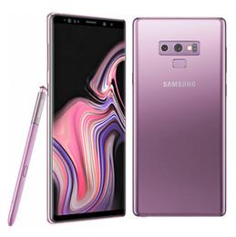 $enCountryForm.capitalKeyWord Australia - Samsung Galaxy Note 9 6.4 inch Quad HD+ AMOLED Infinity Display Snapdragon 845 S Pen 6 8G RAM IP68 Wireless Charge N960U Refurbished phone