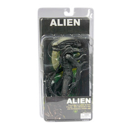 """$enCountryForm.capitalKeyWord UK - Free Shipping NECA Official 1979 Movie Classic Original Alien PVC Action Figure Collectible Toy Doll 7"""" 18cm MVFG035"""