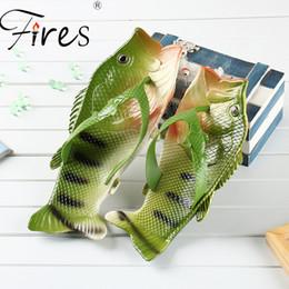$enCountryForm.capitalKeyWord Australia - Fires Summer Men Slippers Women Lightweight Flip Flops Fish Pattern Couple Outdoor sandals Shoes Water Beach Shoes Zapatos Mujer