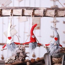 $enCountryForm.capitalKeyWord NZ - 2020 New Year Wooden Swing Hanging Christmas Doll Decoration Christmas Tree Decoration Ornaments Xmas Car Pendant Children Gift