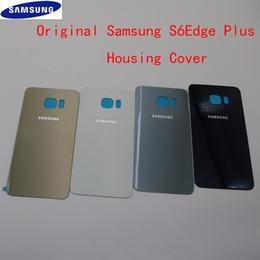 $enCountryForm.capitalKeyWord Australia - Rear Battery Cover Case Back Door Back Housing Glass Battery Housing For SAMSUNG GALAXY S6 Edge Plus G928