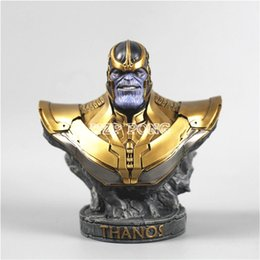 $enCountryForm.capitalKeyWord Australia - 18 CM Resin Bust Thanos Model Avengers 3 Infinity War Collection Statue Thanos Action Figure
