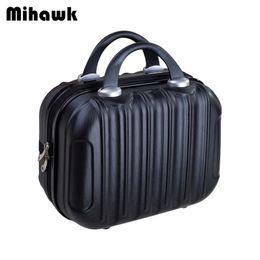 China Mihawk Women Fashion Makeup Suitcase Tote Cartoon Travel Beauty Toiletries Wash Tote Box Organizer Handbag Supplies Accessories cheap beauty army box suppliers