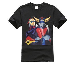$enCountryForm.capitalKeyWord Australia - UFO Robot Grendizer Goldrake T Shirts Male 2019 New T Shirts Colorful 100% Cotton Round Neck Tee Shirt Short Sleeves
